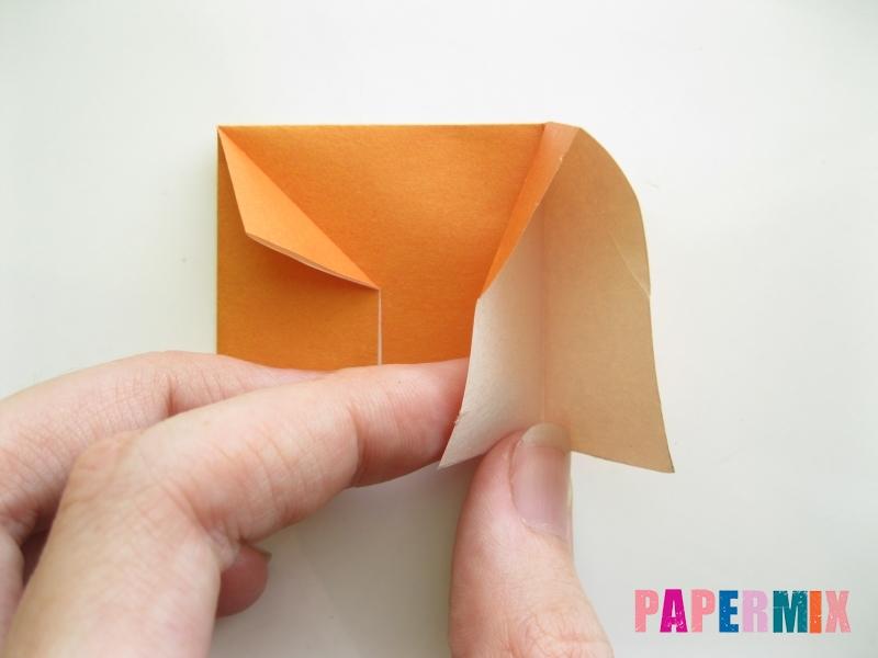 Как сделать корону из бумаги (оригами) своими руками - шаг 4