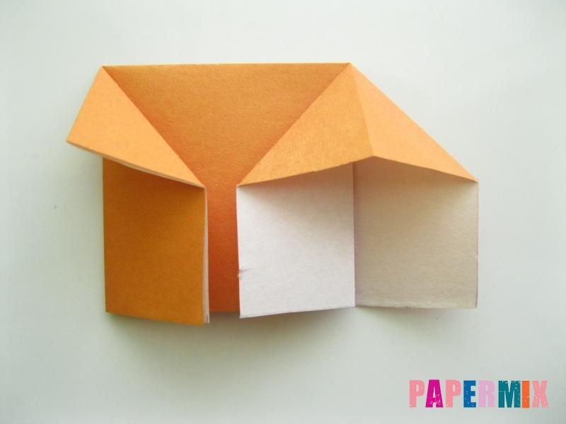 Как сделать корону из бумаги (оригами) своими руками - шаг 5