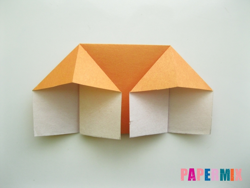 Как сделать корону из бумаги (оригами) своими руками - шаг 6
