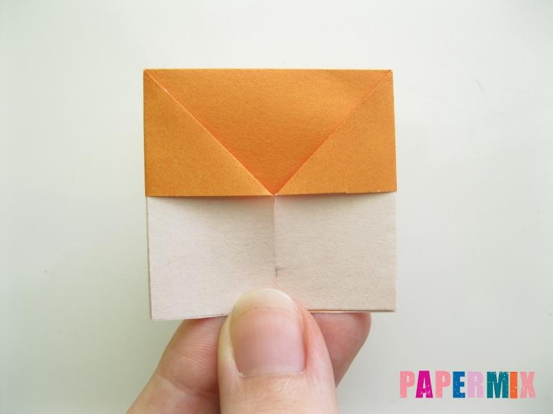 Как сделать корону из бумаги (оригами) своими руками - шаг 7