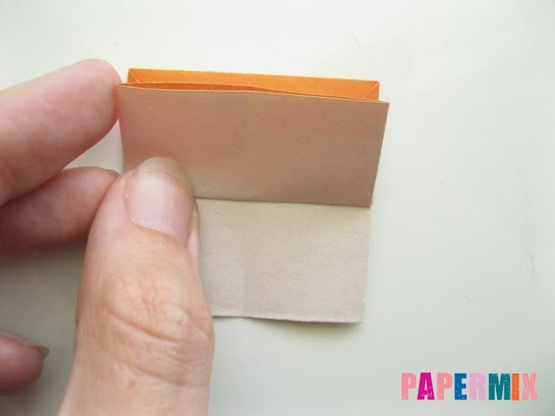 Как сделать корону из бумаги (оригами) своими руками - шаг 8