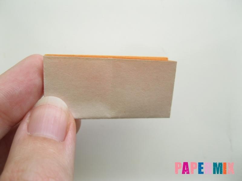 Как сделать корону из бумаги (оригами) своими руками - шаг 9