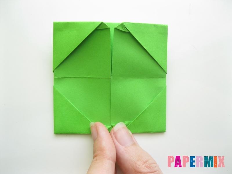 Как сделать кошелек из бумаги (оригами) своими руками - шаг 11