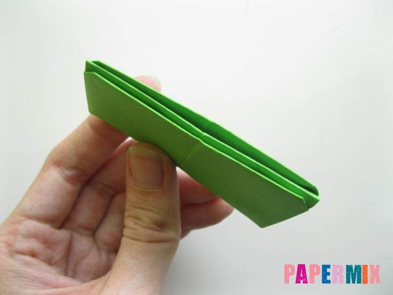 Как сделать кошелек из бумаги (оригами) своими руками - шаг 13
