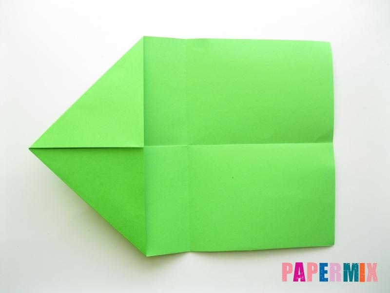 Как сделать кошелек из бумаги (оригами) своими руками - шаг 4