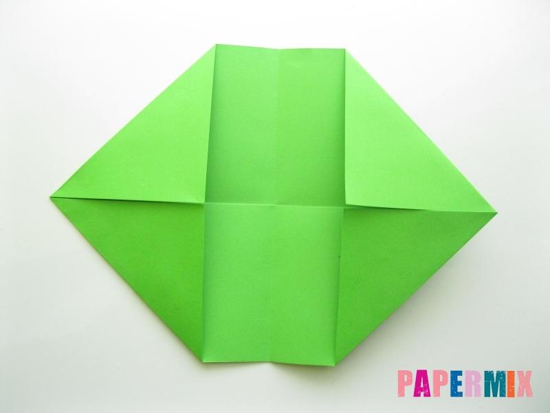 Как сделать кошелек из бумаги (оригами) своими руками - шаг 5