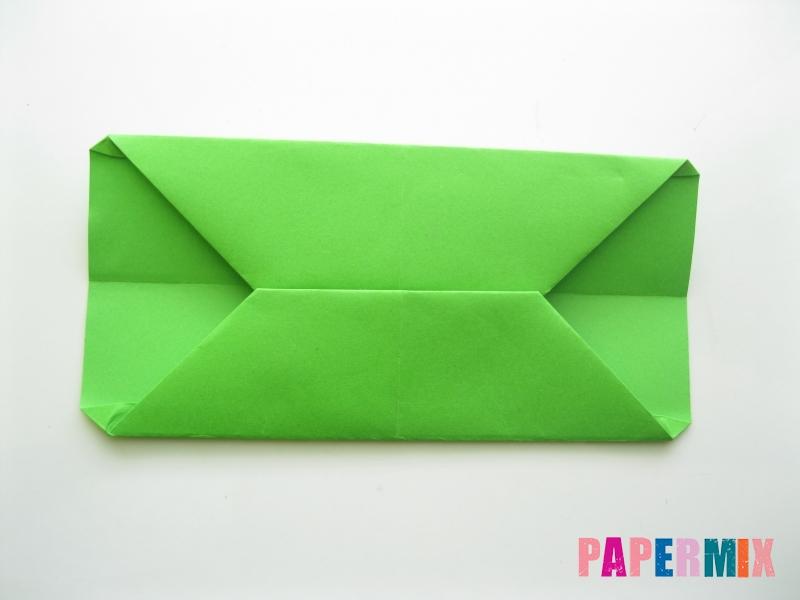 Как сделать кошелек из бумаги (оригами) своими руками - шаг 9