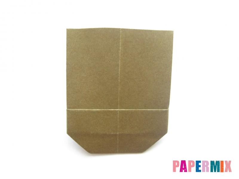 Как сделать кресло из бумаги (оригами) своими руками - шаг 10