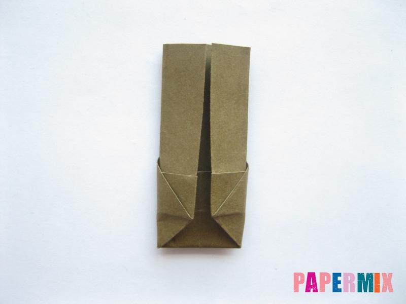 Как сделать кресло из бумаги (оригами) своими руками - шаг 11