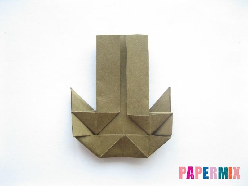 Как сделать кресло из бумаги (оригами) своими руками - шаг 16