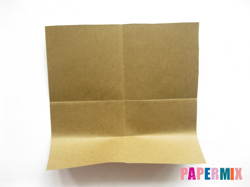 Как сделать кресло из бумаги (оригами) своими руками - шаг 2