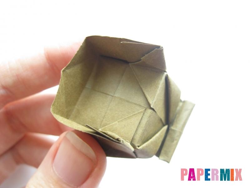 Как сделать стул из бумаги (оригами) поэтапно - шаг 30