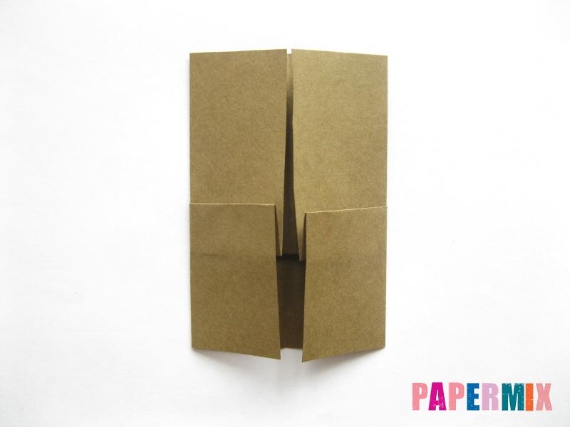 Как сделать кресло из бумаги (оригами) своими руками - шаг 4