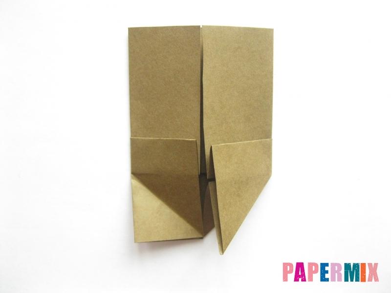 Как сделать кресло из бумаги (оригами) своими руками - шаг 6