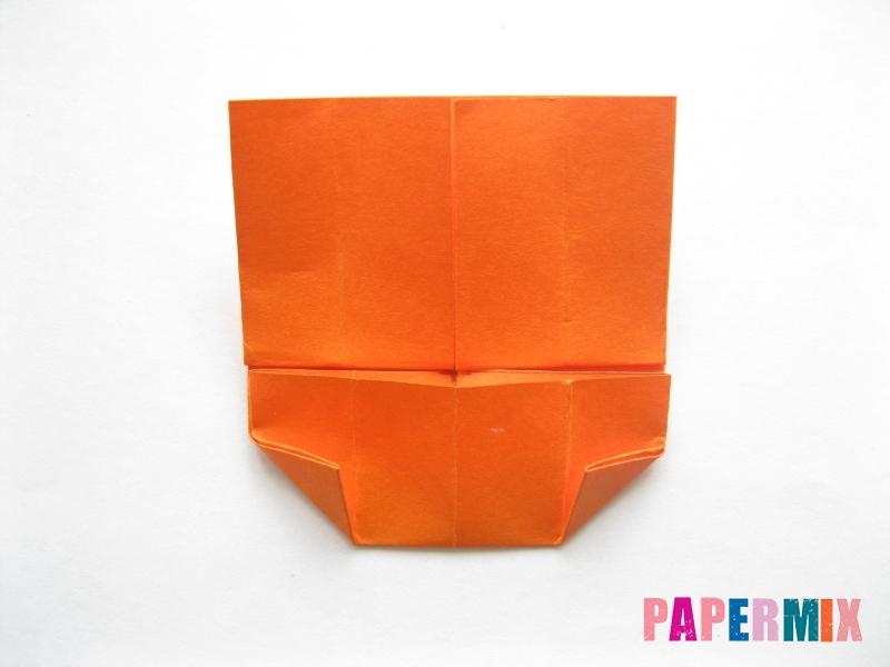 Как сделать кровать из бумаги (оригами) поэтапно - шаг 10
