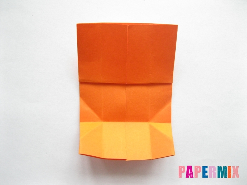Как сделать кровать из бумаги (оригами) поэтапно - шаг 11