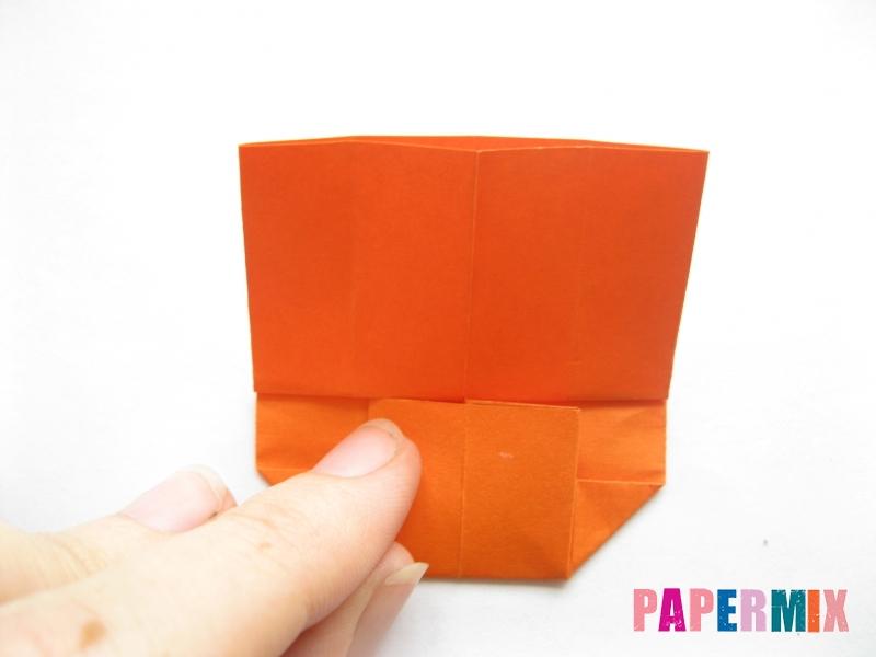 Как сделать кровать из бумаги (оригами) поэтапно - шаг 12