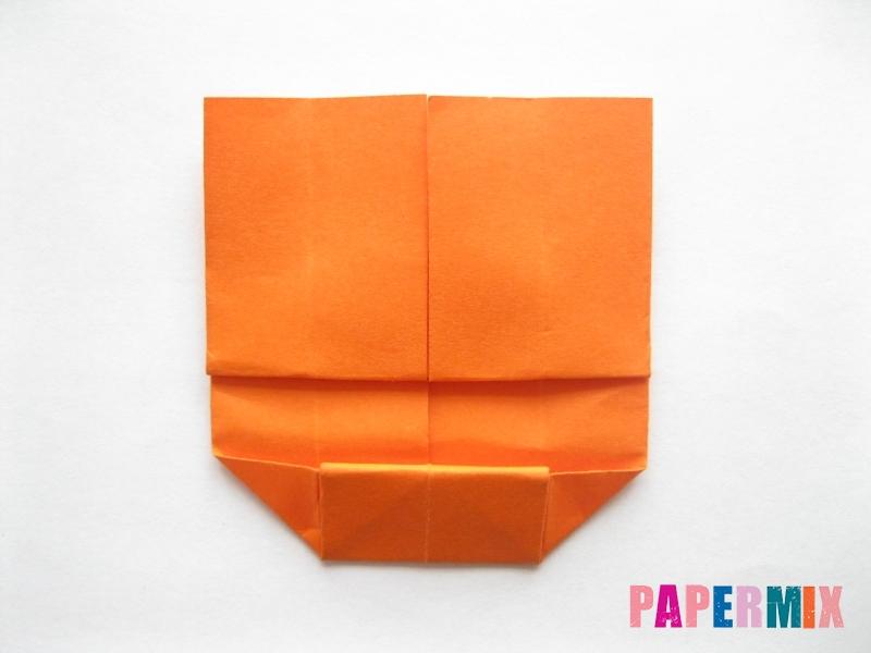 Как сделать кровать из бумаги (оригами) поэтапно - шаг 13