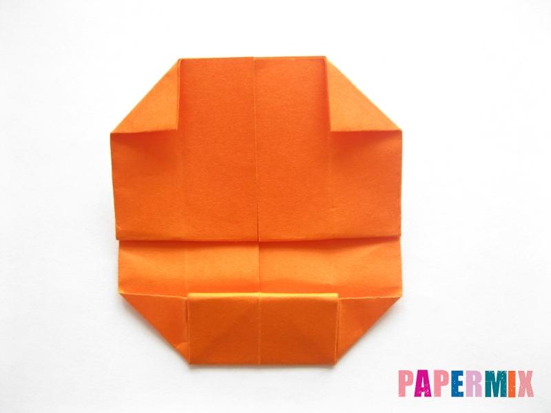 Как сделать кровать из бумаги (оригами) поэтапно - шаг 14