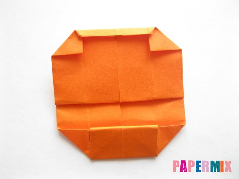 Как сделать кровать из бумаги (оригами) поэтапно - шаг 15