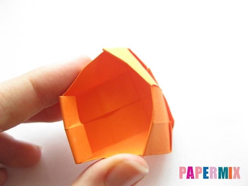 Как сделать кровать из бумаги (оригами) поэтапно - шаг 16