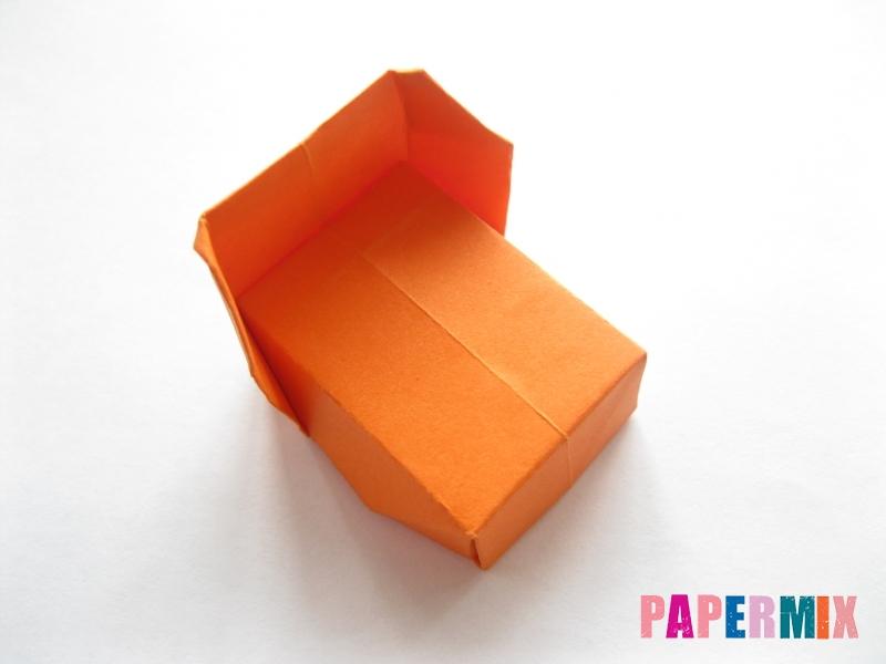 Как сделать кровать из бумаги (оригами) поэтапно - шаг 17