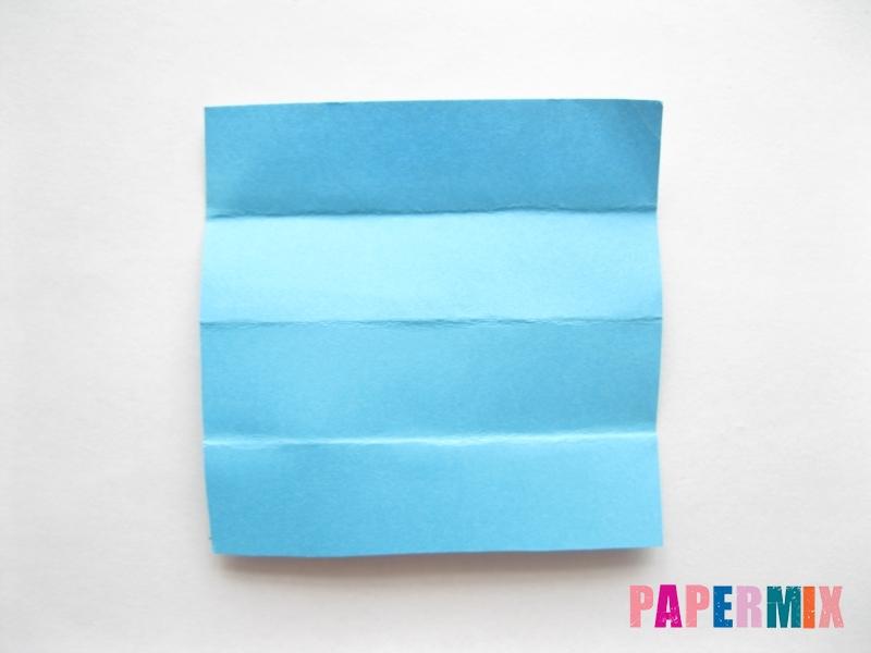 Как сделать кровать из бумаги (оригами) поэтапно - шаг 21