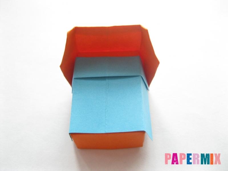 Как сделать кровать из бумаги (оригами) поэтапно - шаг 26