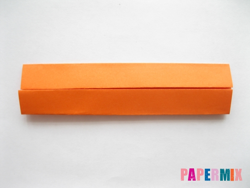 Как сделать кровать из бумаги (оригами) поэтапно - шаг 4