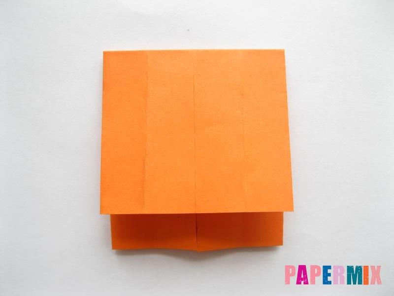 Как сделать кровать из бумаги (оригами) поэтапно - шаг 6