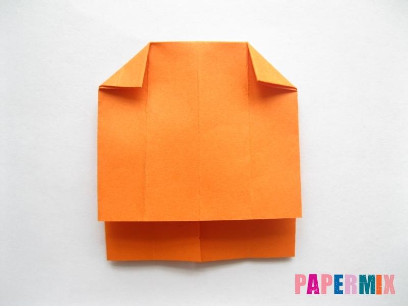 Как сделать кровать из бумаги (оригами) поэтапно - шаг 7