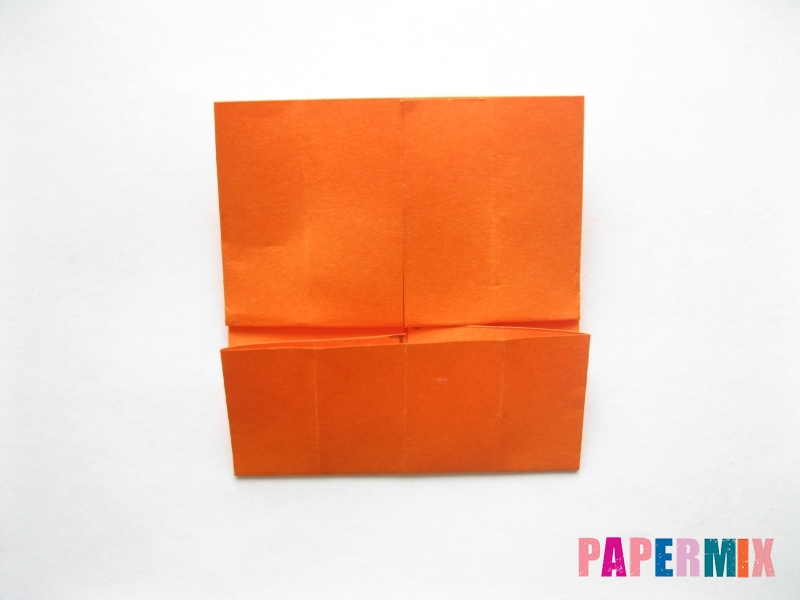 Как сделать кровать из бумаги (оригами) поэтапно - шаг 9