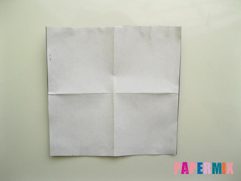 Как сделать мужской костюм из бумаги (оригами) - шаг 1