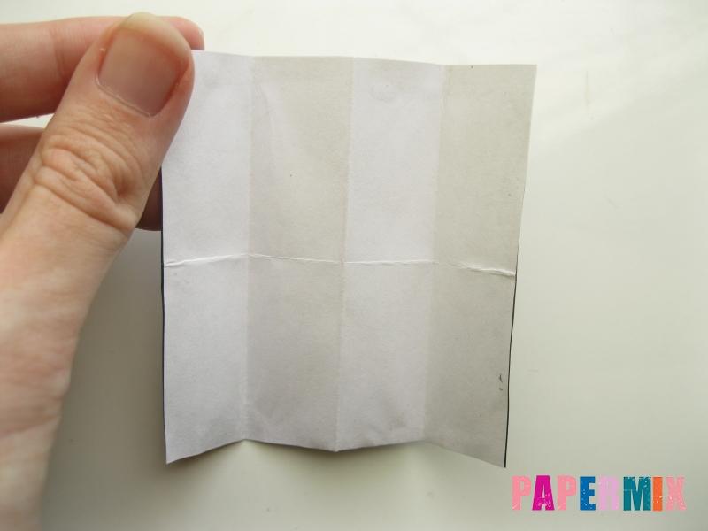 Как сделать мужской костюм из бумаги (оригами) - шаг 3