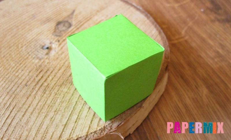 Как сделать объемный квадрат из бумаги своими руками поэтапно