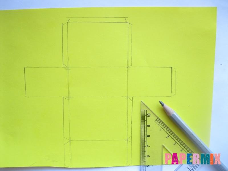 Как сделать из бумаги нож схема фото 43