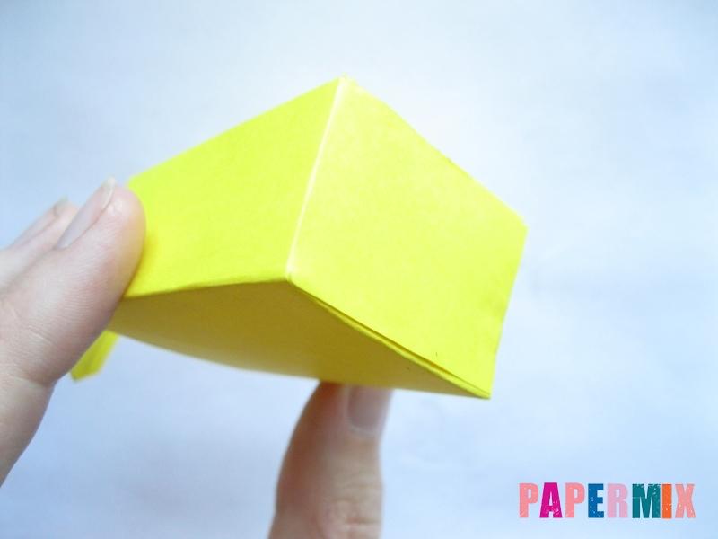 Как сделать параллелепипед из бумаги схема - шаг 5