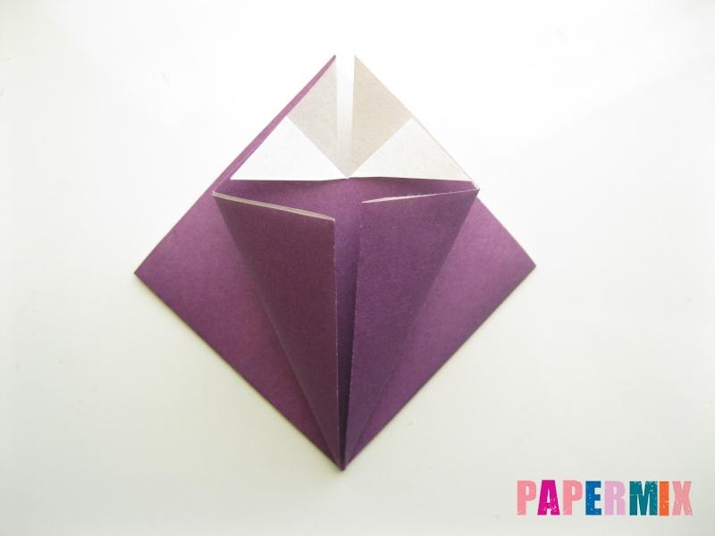 Как сделать платье из бумаги (оригами) своими руками - шаг 10