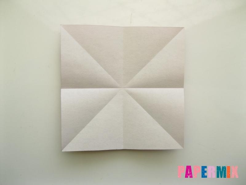 Как сделать платье из бумаги (оригами) своими руками - шаг 6