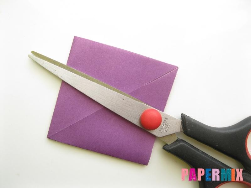 Как сделать платье из бумаги (оригами) своими руками - шаг 8