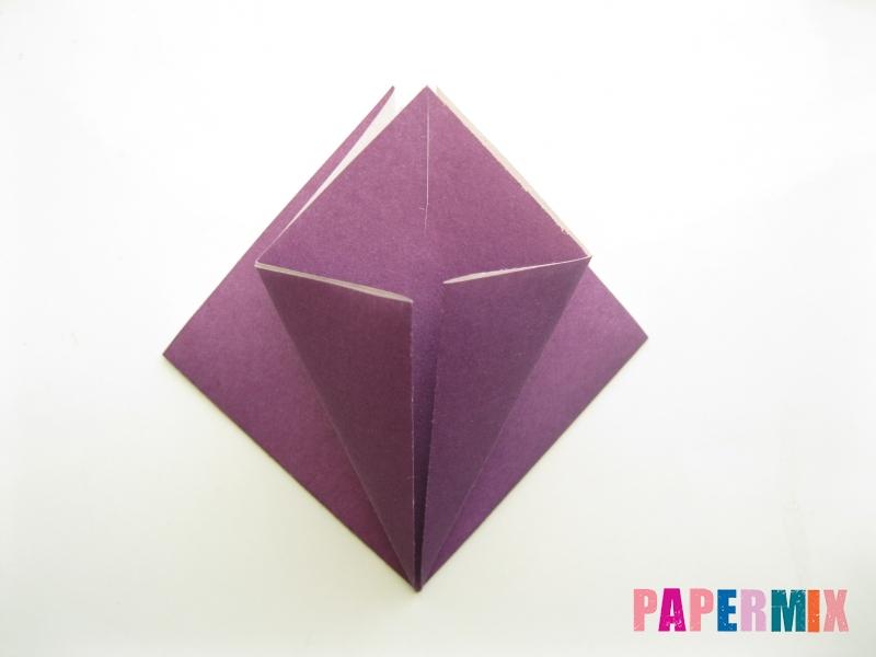 Как сделать платье из бумаги (оригами) своими руками - шаг 9