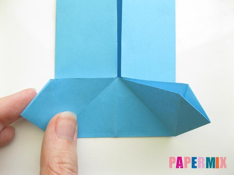 Как сделать рубашка с галстуком из бумаги (оригами) - шаг 13