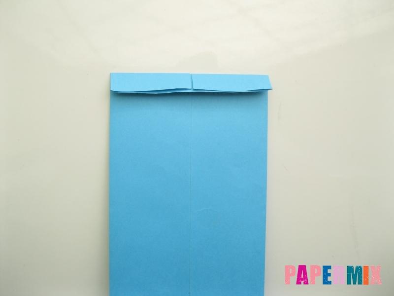Как сделать рубашка с галстуком из бумаги (оригами) - шаг 15
