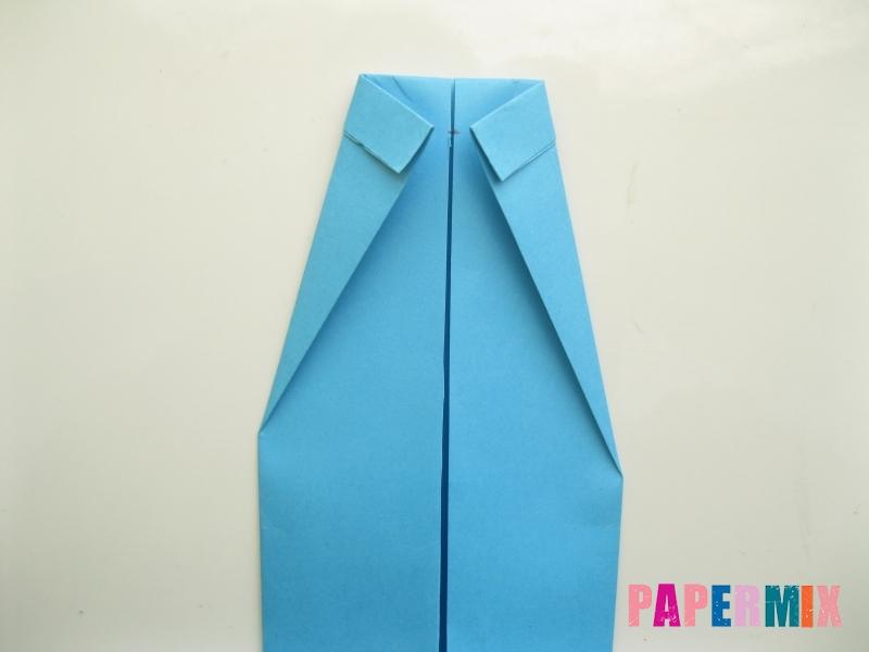 Как сделать рубашка с галстуком из бумаги (оригами) - шаг 17
