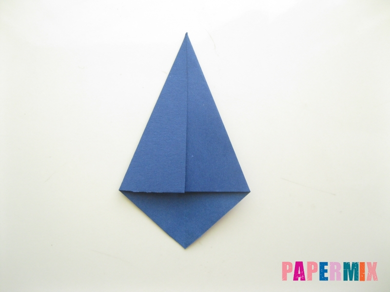 Как сделать рубашка с галстуком из бумаги (оригами) - шаг 24