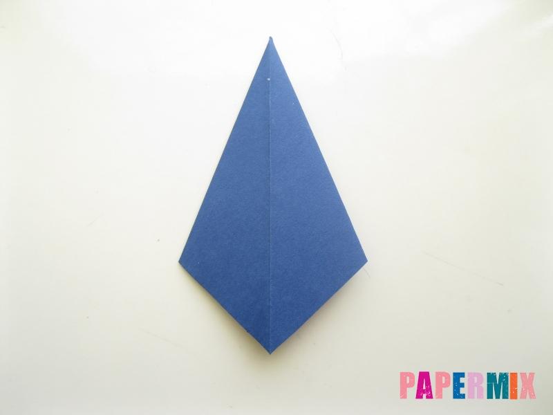 Как сделать рубашка с галстуком из бумаги (оригами) - шаг 25