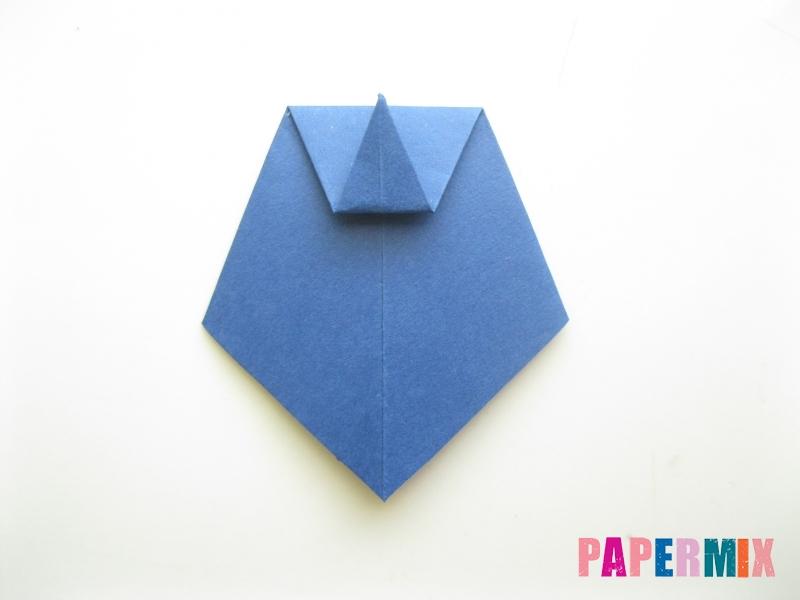 Как сделать рубашка с галстуком из бумаги (оригами) - шаг 27