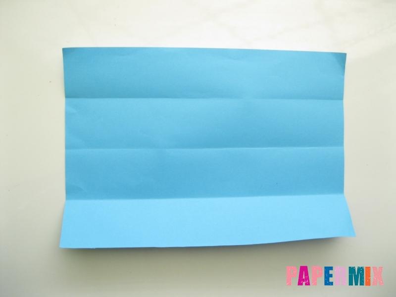 Как сделать рубашка с галстуком из бумаги (оригами) - шаг 4
