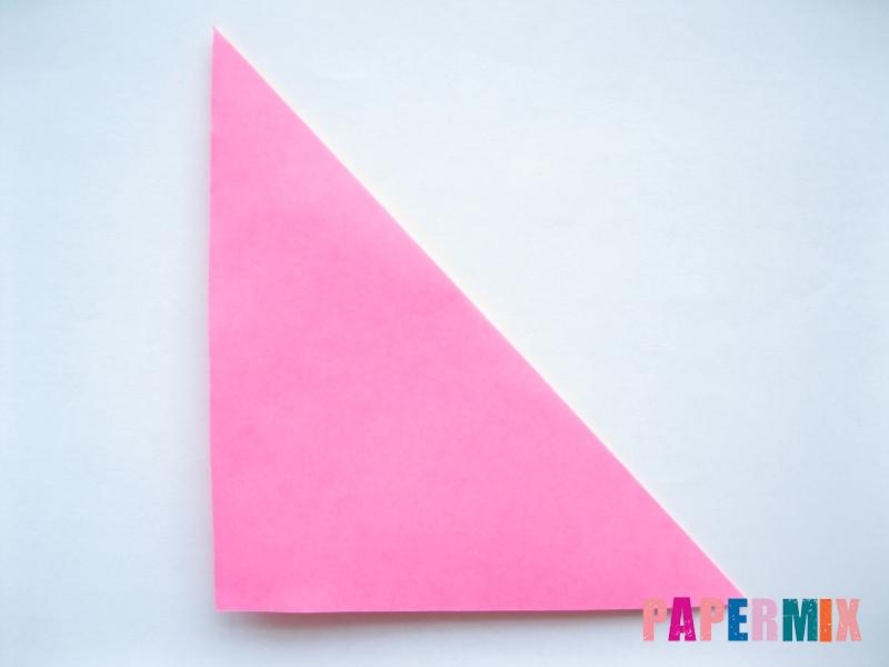 Как сделать шар из бумаги (оригами) своими руками - шаг 1