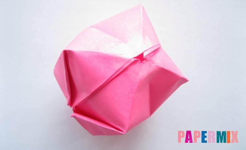 Как сделать шар из бумаги в технике оригами своими руками поэтапно